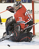 Doug Jewer - The Boston College Eagles defeated the Northeastern University Huskies 5-2 in the opening game of the 2006 Beanpot at TD Banknorth Garden in Boston, MA, on February 6, 2006.