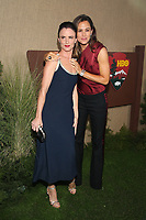 LOS ANGELES, CA - OCTOBER 10: Juliette Lewis and Jennifer Garner at the Los Angeles Premiere of HBO's Camping at Paramount Studios in Los Angeles,California on October 10, 2018. Credit: Faye Sadou/MediaPunch