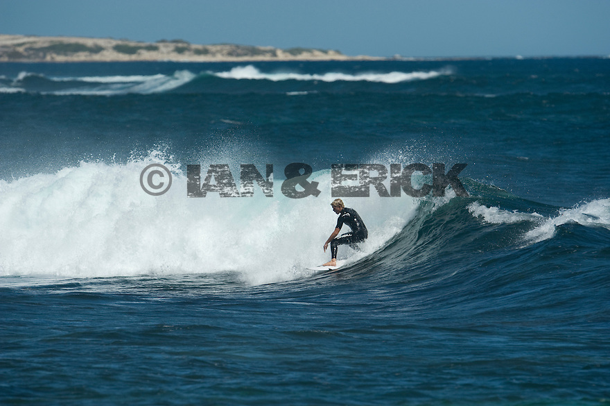 John Florence at Gallows in Injidup in Western Australia.
