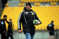 Assistant coach John Plumtree. Hurricanes Super Rugby final captain's run at Westpac Stadium, Wellington, New Zealand on Friday, 5 August 2016. Photo: Dave Lintott / lintottphoto.co.nz