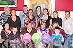 Emily Galvin Upper Tullig, Killorglin seated forth from left, who celebrated her 18th birthday and also passing her driving test with her family in Dev's in the Square Restaurant, Killrglin on Saturday night.   Copyright Kerry's Eye 2008