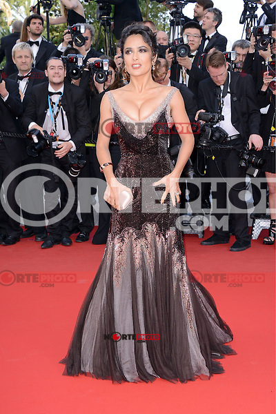"""Salma Hayek and Francois-Henri Pinault attending the """"Madagascar III"""" Premiere during the 65th annual International Cannes Film Festival in Cannes, France, 18.05.2012..Credit: Timm/face to face/MediaPunch Inc. ***FOR USA ONLY***"""