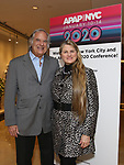 Stewart F. Lane and Bonnie Comley from BroadwayHD debuted their slate of digital captures with Broadway & Beyond Theatricals at The APAP Conference  on January 912, 2020 at The Hilton Hotel Midtown in New York City.