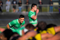 Manawatu first five Stewart Cruden during the Mitre 10 Cup preseason rugby match between the Wellington Lions and Manawatu Turbos at Levin Domain in Levin, New Zealand on Monday, 3 June 2019. Photo: Dave Lintott / lintottphoto.co.nz