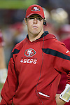 San Francisco 49ers quarterback Scott Tolzien during an NFC Championship NFL football game against the New York Giants on January 22, 2012 in San Francisco, California. The Giants won 20-17 in overtime. (AP Photo/David Stluka)