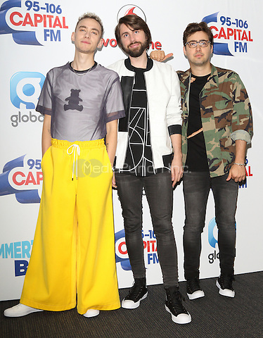 Years and Years ( Olly Alexander, Mikey Goldsworthy, Emre Turkmen ) at Capital&Otilde;s Summertime Ball with Vodafone at Wembley Stadium, London on June 11th 2016<br /> CAP/ROS<br /> &copy;Steve Ross/Capital Pictures<br /> Years and Years ( Olly Alexander, Mikey Goldsworthy, Emre Turkmen ) at Capital&rsquo;s Summertime Ball with Vodafone at Wembley Stadium, London on June 11th 2016<br /> CAP/ROS<br /> &copy;Steve Ross/Capital Pictures /MediaPunch ***NORTH AND SOUTH AMERIcAS ONLY***