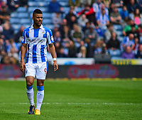 Huddersfield Town's Elias Kachunga<br /> <br /> Photographer Andrew Vaughan/CameraSport<br /> <br /> The EFL Sky Bet Championship Play-Off Semi Final First Leg - Huddersfield Town v Sheffield Wednesday - Saturday 13th May 2017 - The John Smith's Stadium - Huddersfield<br /> <br /> World Copyright &copy; 2017 CameraSport. All rights reserved. 43 Linden Ave. Countesthorpe. Leicester. England. LE8 5PG - Tel: +44 (0) 116 277 4147 - admin@camerasport.com - www.camerasport.com