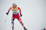 HOLMENKOLLEN, OSLO, NORWAY - March 16: Mikko Kokslien of Norway (NOR) during the cross country 15 km (2 x 7.5 km) competition at the FIS Nordic Combined World Cup on March 16, 2013 in Oslo, Norway. (Photo by Dirk Markgraf)