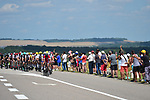 The peloton in action during Stage 4 of the 104th edition of the Tour de France 2017, running 207.5km from Mondorf-les-Bains, Luxembourg to Vittel, France. 4th July 2017.<br /> Picture: ASO/Pauline Ballet | Cyclefile<br /> <br /> <br /> All photos usage must carry mandatory copyright credit (&copy; Cyclefile | ASO/Pauline Ballet)