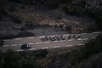 top view <br /> <br /> 76th Paris-Nice 2018<br /> Stage 7: Nice > Valdeblore La Colmiane (175km)
