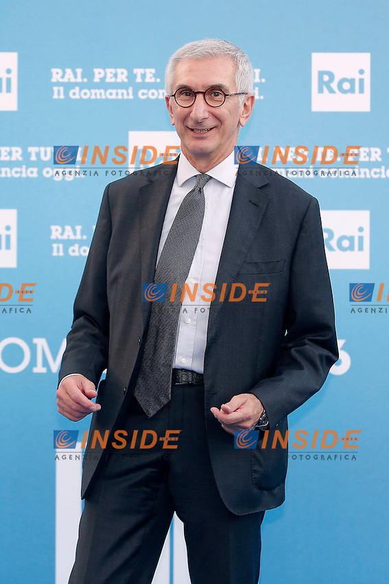 Umberto Broccoli<br /> Roma 05-07-2016 Salone delle Fontane. Presentazione dei palinsesti RAI per l'autunno 2016.<br /> Photo Samantha Zucchi Insidefoto
