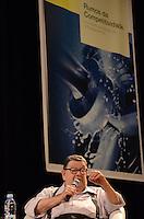 SAO PAULO, 04 DE ABRIL DE 2013 - RUMOS DA COMPETITIVIDADE - O economista Delfim Netto durante Seminário Rumos da Competitividade - A Indústria de Máquinas e Equipamentos no Auditório da Abimaq (Associação Brasileira de Máquinas e Equipamentos), região sul da capital, na tarde desta quinta feira, 04. (FOTO: ALEXANDRE MOREIRA / BRAZIL PHOTO PRESS)