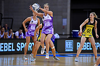 Stars' Mila Reuelu-Buchanan in action during the ANZ Premiership - Pulse v Stars at Te Rauparaha Arena, Porirua, New Zealand on Wednesday 3 April 2019. <br /> Photo by Masanori Udagawa. <br /> www.photowellington.photoshelter.com