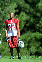 Jul 30, 2008; Flagstaff, AZ, USA; Arizona Cardinals safety Matt Ware during training camp on the campus of Northern Arizona University. Mandatory Credit: Mark J. Rebilas-