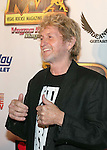 Musician/songwriter Jon Anderson arrives at the 2013 Vegas Rocks! magazine music awards at The Joint inside the Hard Rock Hotel & Casino on August 25, 2013 in Las Vegas, Nevada.