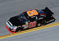 Feb 07, 2009; Daytona Beach, FL, USA; NASCAR Sprint Cup Series driver Boris Said during practice for the Daytona 500 at Daytona International Speedway. Mandatory Credit: Mark J. Rebilas-