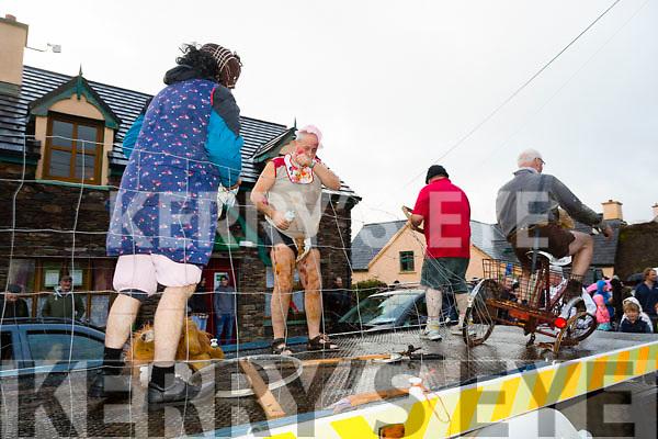 At the Cloghane/Brandon annual Féile Lúghnasa Fancy Dress Parade on Sunday