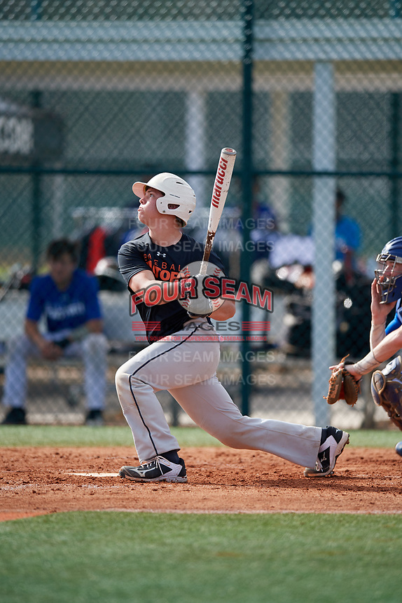 Colby Marchant (66) of Hazlehurst, Georgia during the Baseball Factory Pirate City Christmas Camp & Tournament on December 29, 2018 at Pirate City in Bradenton, Florida. (Mike Janes/Four Seam Images)