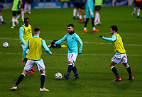 Blackburn Rovers' Adam Armstrong warms up before the match<br /> <br /> Photographer Alex Dodd/CameraSport<br /> <br /> Emirates FA Cup Third Round Replay - Blackburn Rovers v Newcastle United - Tuesday 15th January 2019 - Ewood Park - Blackburn<br />  <br /> World Copyright © 2019 CameraSport. All rights reserved. 43 Linden Ave. Countesthorpe. Leicester. England. LE8 5PG - Tel: +44 (0) 116 277 4147 - admin@camerasport.com - www.camerasport.com