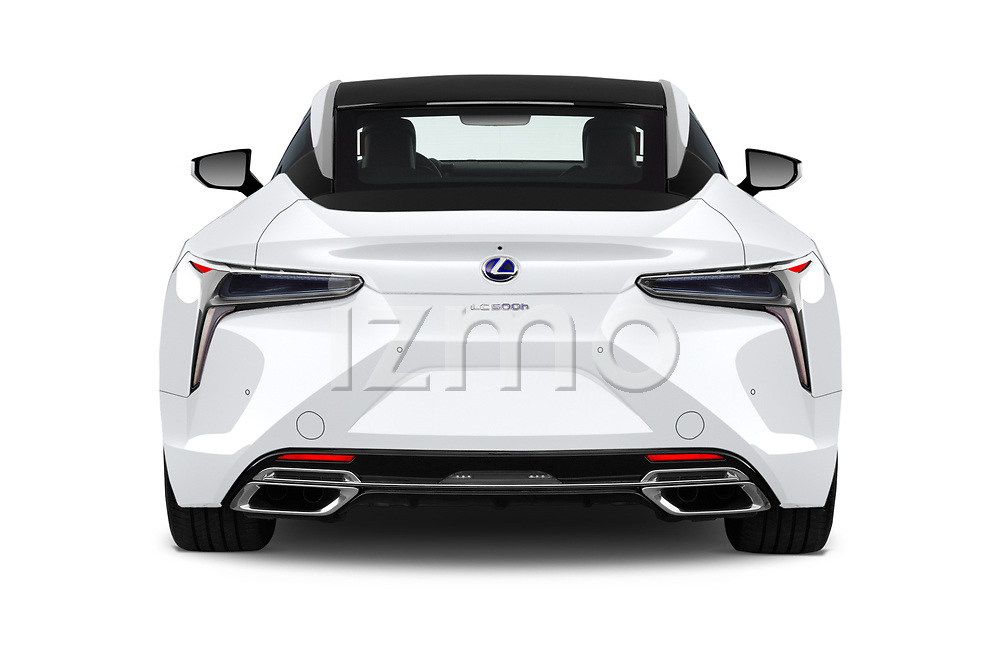 Straight rear view of a 2018 Lexus RX 350L 4x2 Select Doors Door SUV stock images