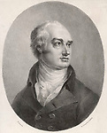 George Canning Statesman     Date: 1770 - 1827     Source: Drawing by M Gauchi lithograph by N Chater & co published 1822