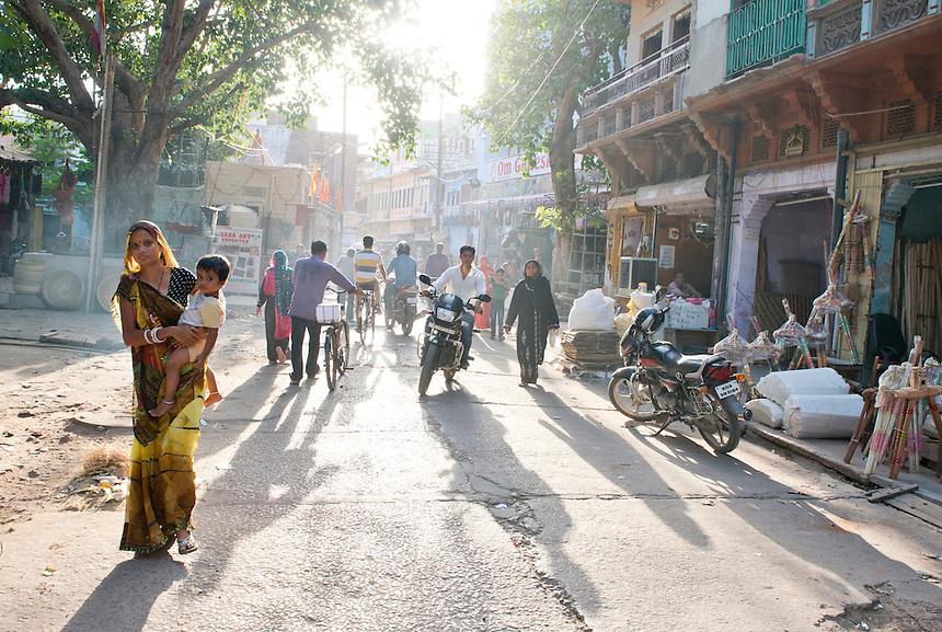 City center, Jodhpur, Northern India, India