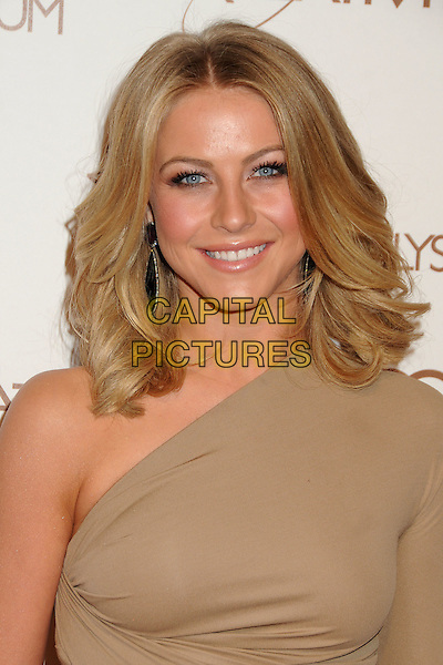 Julianne Hough.5th Annual Art Of Elysium Heaven Gala held at Union Station, Los Angeles, California, USA, 14th January 2012..arrivals portrait headshot one shoulder beige smiling beauty bob .CAP/ADM/BP.©Byron Purvis/AdMedia/Capital Pictures.