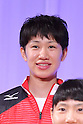 Miyu Nagaoka (JPN), <br /> JULY 20, 2016 - Volleyball : <br /> Japan women's national volleyball team send-off party <br /> for the Rio 2016 Olympic Games in Tokyo, Japan. <br /> (Photo by AFLO SPORT)