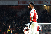 29th January 2019, Emirates Stadium, London, England; EPL Premier League Football, Arsenal versus Cardiff City; Alexandre Lacazette of Arsenal