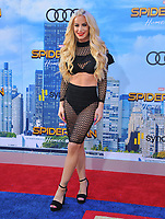www.acepixs.com<br /> <br /> June 28 2017, LA<br /> <br /> GiGi Gorgeous arriving at the premiere of Columbia Pictures' 'Spider-Man: Homecoming' at the TCL Chinese Theatre on June 28, 2017 in Hollywood, California.<br /> <br /> By Line: Peter West/ACE Pictures<br /> <br /> <br /> ACE Pictures Inc<br /> Tel: 6467670430<br /> Email: info@acepixs.com<br /> www.acepixs.com