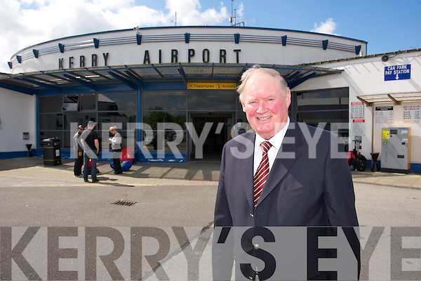 Liam Chute, Vice Chairman of Kerry Airport  at the 25 years Celebration of Kerry Airport on Friday
