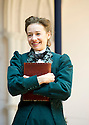 Blue Stockings by Jesscia Swale . A Shakespeare's Globe Production directed by John Dove. With Ellie Piercy as Tess. Opens at Shakespeare's Globe Theatre  on 29/8/13  pic Geraint Lewis