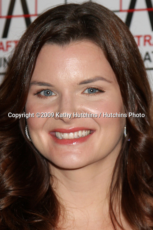Heather Tom arriving at the AFTRA Media & Entertainment Excellence Awards (AMEES) at the Biltmore Hotel in Los Angeles , CA on  March, 9 2009 .©2009 Kathy Hutchins / Hutchins Photo....                .
