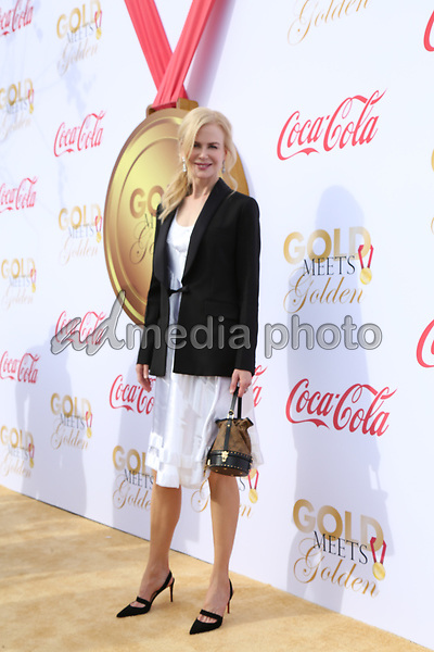 06 January 2018 - Los Angeles, California - Nicole Kidman. 2018 Gold Meets Golden held at The Sunset House. Photo Credit: PMA/AdMedia