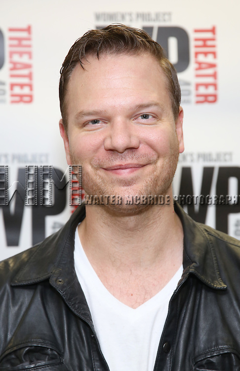 Jim Parrack attends the WP Theater production of 'What We're Up Against' Photo Calll at WP Theater Office on October 5, 2017 in New York City.