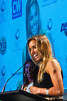 "Manly, New South Wales /Australia (Thursday, February 16, 2012) Sally Fitzgibbons (AUS). The Australian surfing tribe gathered in Manly last night to honour big-wave legend Ross Clarke-Jones as he was inducted into the Australian Surfing Hall of Fame...Clarke-Jones became the 34th Inductee into the Hall of Fame in front of more than 400 people at a gala function at the Manly Novotel...The 45-year-old was overwhelmed and humbled by the honour...""I am completely humbled,"" Clarke-Jones said. ""When you look at the guys on there I think Im not worthy. These guys are world champions, they design stuff everyone surfs on. Im really taken aback to be part of this list...""Its a bit like a bookend, but Im not ready to retire yet. With the whole Storm Surfer thing it feels like Im starting again. I feel like a spring chicken...""Im honoured to be recognised as its something I never dreamed of receiving."".World No.3 Owen Wright was named the Male Surfer of the Year; womens World No.2 Sally Fitzgibbons was named Female Surfer of the Year; and ASP Womens Rookie of the Year Tyler Wright won the Rising Star Award...Ten-time Molokai paddleboard champion and winner of the recent Biggest Paddle Award in the ASL Oakley Big-Wave Awards Jamie Mitchell won the inaugural Waterman Award...The ASB Surfing Spirit Award was won by 1988 World Champion Barton Lynch for his tireless efforts to training and mentoring the surfing champions of tomorrow including organising the successful BLs Blast Off event for junior surfers.. Photo: joliphotos.com"