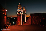 Vu de nuit depuis l'esplanade de la North  Sydney olympic pool Sydney
