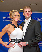 Lara Yunaska and Eric Trump arrive for the 2016 White House Correspondents Association Annual Dinner at the Washington Hilton Hotel on Saturday, April 30, 2016.<br /> Credit: Ron Sachs / CNP<br /> (RESTRICTION: NO New York or New Jersey Newspapers or newspapers within a 75 mile radius of New York City)
