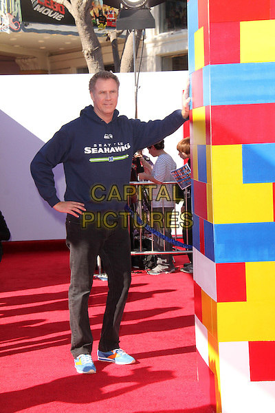 WESTWOOD, CA - February 01: Will Ferrell at the &quot;The Lego Movie&quot; Los Angles Premiere, Village Theatre, Westwood,  February 01, 2014.  <br /> CAP/MPI/JO<br /> &copy;Janice Ogata/MediaPunch/Capital Pictures