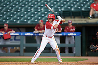 Stephen Pitarra (7) of the North Carolina State Wolfpack at bat against the Boston College Eagles in Game Two of the 2017 ACC Baseball Championship at Louisville Slugger Field on May 23, 2017 in Louisville, Kentucky. The Wolfpack defeated the Eagles 6-1. (Brian Westerholt/Four Seam Images)