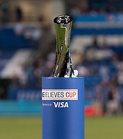 FRISCO, TX - MARCH 11: SheBelieves Cup Trophy during a game between Japan and USWNT at Toyota Stadium on March 11, 2020 in Frisco, Texas.