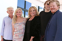 LOS ANGELES - AUG 29:  Klaus Dunst, Kirsten Dunst, Inez Rupprecht, brother, Jesse Plemons at the Kirsten Dunst Star Ceremony on the Hollywood Walk of Fame on August 29, 2019 in Los Angeles, CA