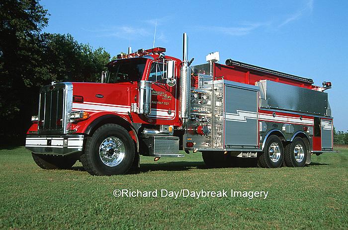 Firetruck - Pumper/tanker  Kinmundy-Alma Fire District,  Kinmundy IL