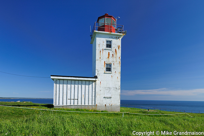 Cape St. Mary Lighthouse in  St. Mary&rsquo;s Bay <br /> Near Mavillette<br /> Nova Scotia<br /> Canada