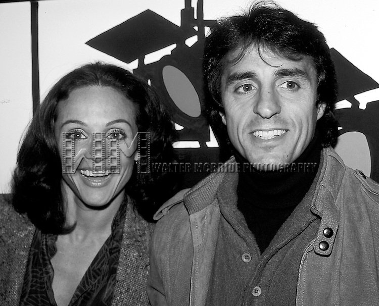 Valerie Harper with her husband Tony.Attending a N.A.T.P.E. Television Convention in New York City..March 1981.
