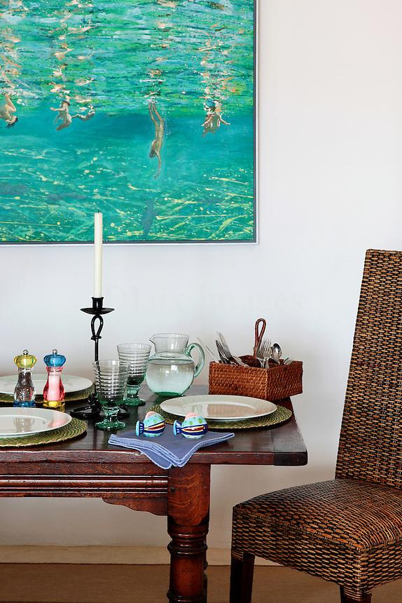 modern contemporary dining room