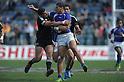 APRIL 1, 2012 - Rugby : APRIL 1, 2012 - Rugby : HSBC Sevens World Series Tokyo Sevens 2012, Samoa 17-12 New Zealand at Chichibunomiya Rugby Stadium, Tokyo, Japan. (Photo by Atsushi Tomura /AFLO SPORT) [1035]