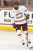 Alex Tuch (BC - 12) - The Boston College Eagles defeated the visiting University of New Brunswick Varsity Reds 6-4 in an exhibition game on Saturday, October 4, 2014, at Kelley Rink in Conte Forum in Chestnut Hill, Massachusetts.