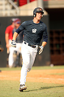 September 15, 2009:  Bryce Harper, one of many top prospects in action, taking part in the 18U National Team Trials at NC State's Doak Field in Raleigh, NC.  Photo By David Stoner / Four Seam Images