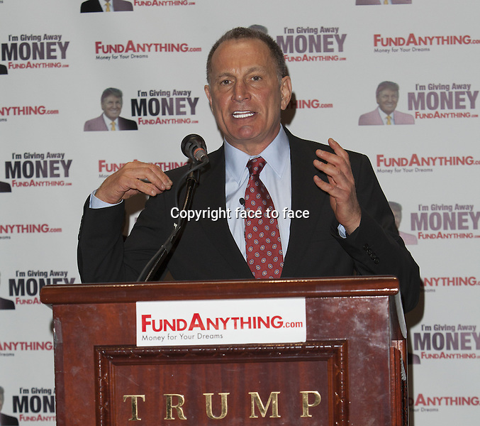 Bill Zanker // NEW YORK, NY - MAY 8: Bill Zanker promotes FundAnything.com during a press conference at Trump Tower in New York City. May 8, 2013...Credit: MediaPunch/face to face..- Germany, Austria, Switzerland, Eastern Europe, Australia, UK, USA, Taiwan, Singapore, China, Malaysia, Thailand, Sweden, Estonia, Latvia and Lithuania rights only -